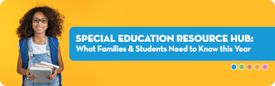 Special Education Resource Hub banner